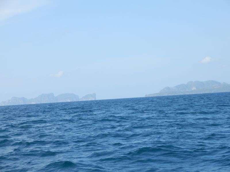 links Koh Phi Phi Le , rechts Koh Phi Phi Don