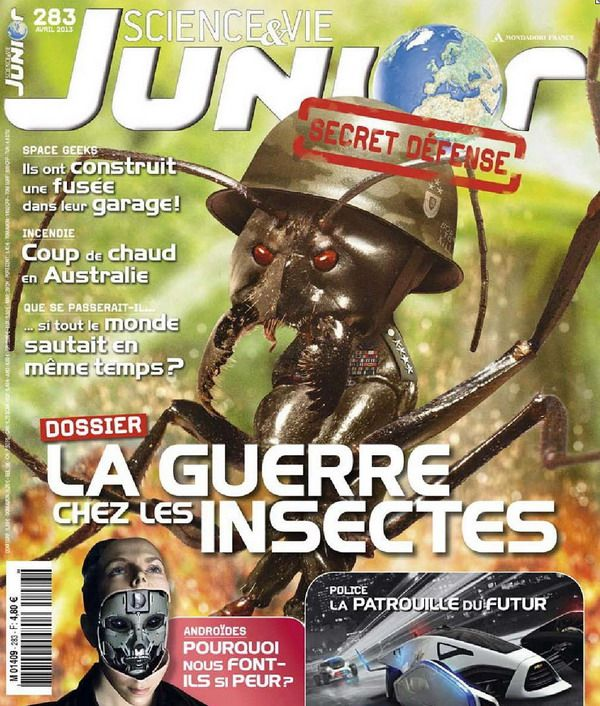 Science et Vie Junior N°283 Avril 2013