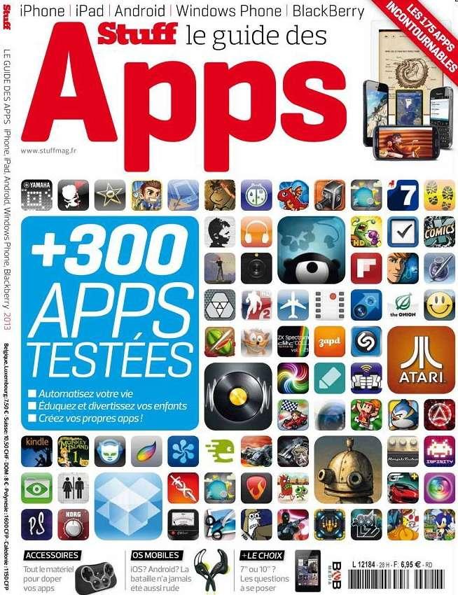 Stuff Hors Série N°28 - Le Guide des Apps 2013