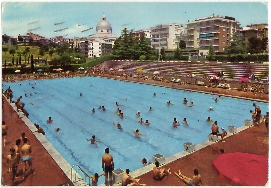 Roma e u r piscina delle rose viagg 1971 22800 ebay - Piscina eur roma ...