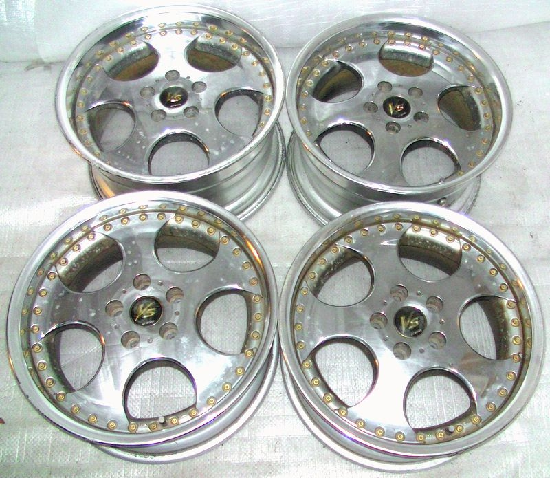 WORK VS-SD 17 8J 9J 5x114 Rims Alloy Wheels S14 Lancer evo RX7