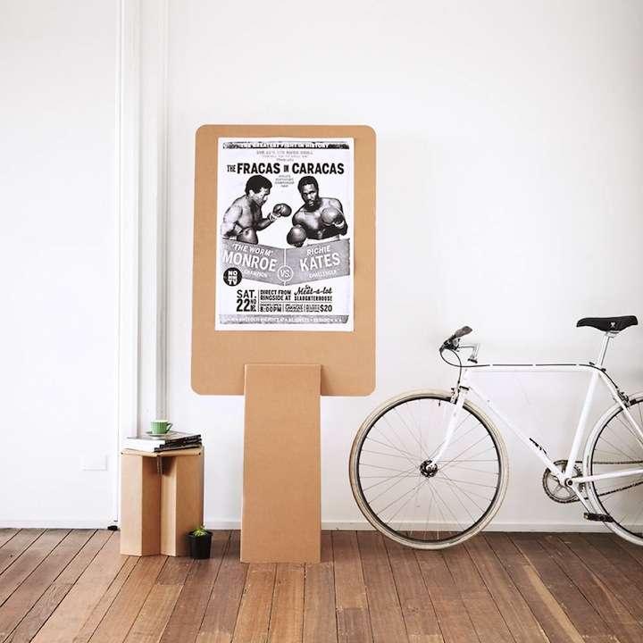 karton10 - Decoración Eco Chic: Muebles hechos de cartón