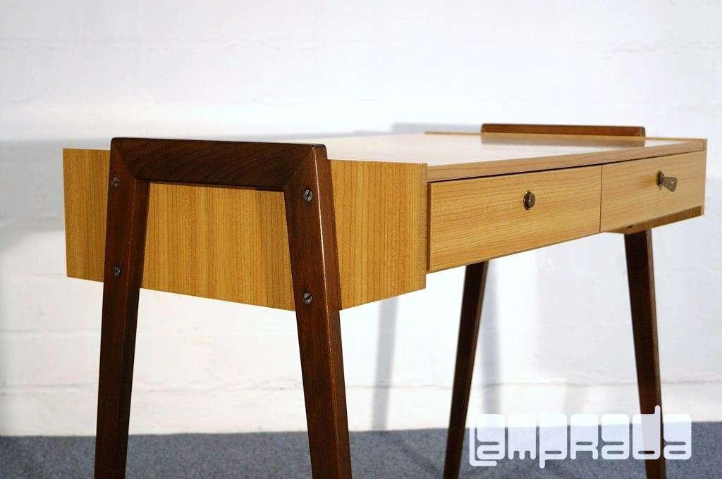 3k m bel 50er 60er schreibtisch im magg stil ponti rockabilly ra ebay. Black Bedroom Furniture Sets. Home Design Ideas