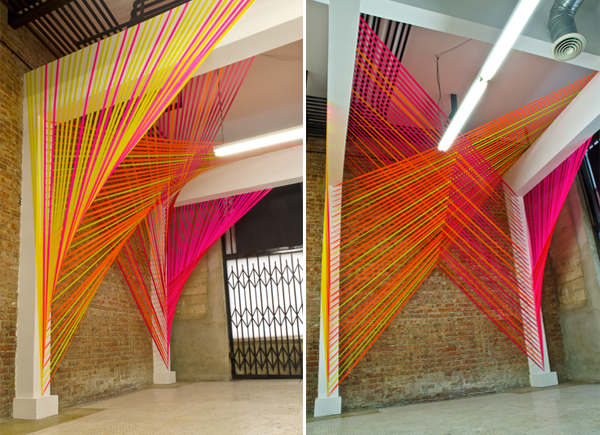HEY LOOK: INSPIRED BY FLAGGING TAPE INSTALLATIONS - MEGAN ...