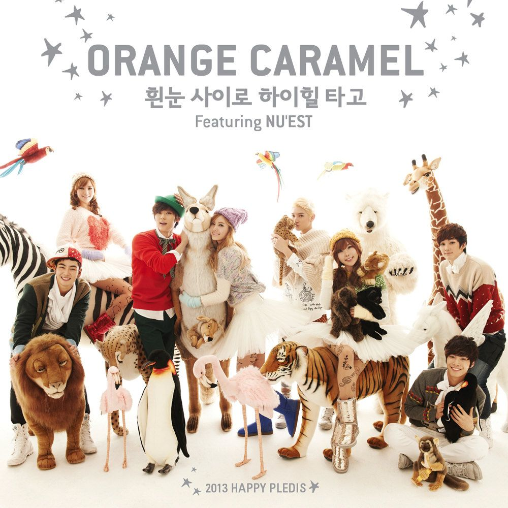 [Single] Orange Caramel & NU'EST - Dashing Through the Snow in High Heels